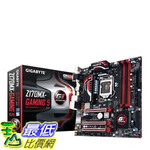 [美國直購] Gigabyte 主機板 LGA1151 Intel Z170 Micro ATX DDR4 Motherboards GA-Z170MX-Gaming 5