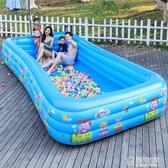 兒童充氣游泳池加厚家用成人超大號水上樂園嬰兒小孩家庭充氣水池 ATF 極有家