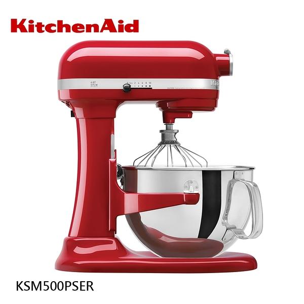 買就送MINI牛奶鍋【KitchenAid】PRO500 Series 5QT 升降式攪拌機 Stand Mixer KSM500 紅色 白色