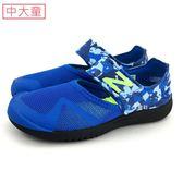 中童 NEW BALANCE  KA208BUY   輕量  護趾涼鞋 《7+1童鞋》9388 藍色