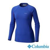 Columbia 女 保暖快排長袖上衣-靛藍色 【GO WILD】