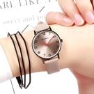 手錶女學生ins原宿風防水高中生小錶盤超薄男錶個性時尚潮電子錶