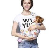 兒嬰兒簡易單肩背帶夏季透氣網面前抱橫抱式寶寶純棉背巾抱袋 雙十二全館免運