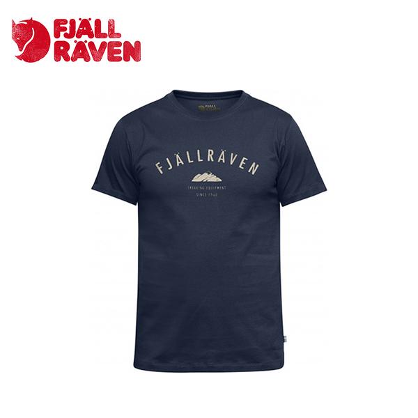 瑞典 Fjallraven 小狐狸 Trekking Equipment T-Shirt 有機棉T 男款 暗深藍 #82456