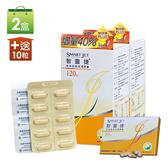 傑安 智靈捷猴頭菇菌絲體膠囊2盒加贈10粒 超值增量組