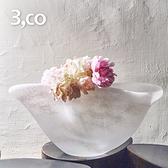 【3,co】動景花器X - 白
