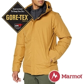 【Marmot】男 單件式GT羽絨保暖連帽外套『威士忌褐』11230-7372 戶外 休閒 登山 露營 保暖 禦寒 防風