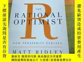 二手書博民逛書店The罕見Rational Optimist 理性樂觀派 英文原版Y269947 Matt ridley H