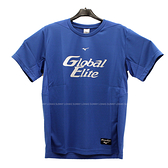 (B4) MIZUNO 美津濃 男 運動上衣 T恤 棒球練習服 吸濕排汗快乾 12TC0L0122 藍 [陽光樂活]