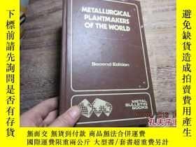 二手書博民逛書店metallurgical罕見plantmakers of th
