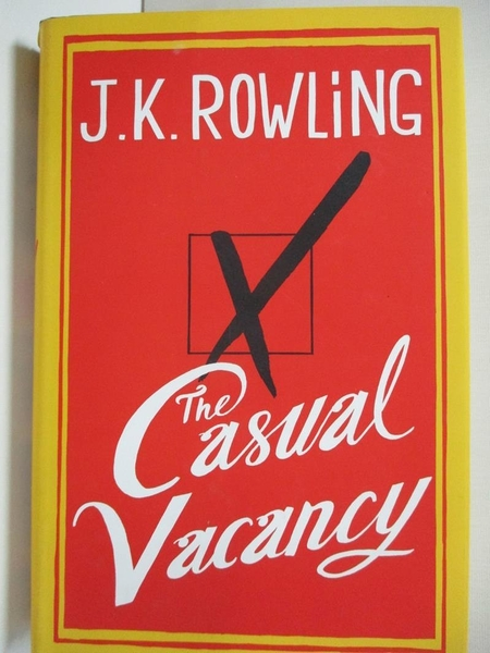 【書寶二手書T4/原文書_J28】The Casual Vacancy _Rowling, J. K.