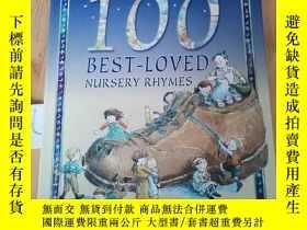 二手書博民逛書店100罕見BEST-LOVED NURSERY RHYMESY15335