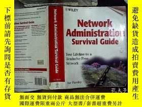 二手書博民逛書店network罕見administration survival