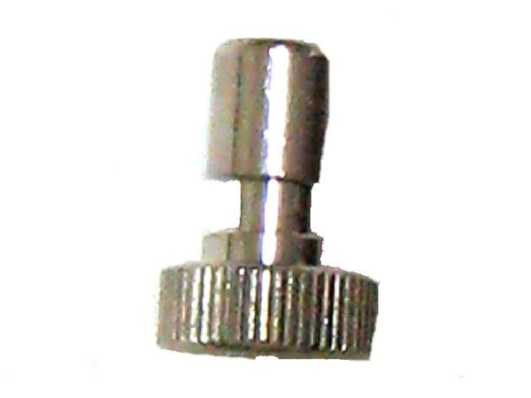 3分止水塞頭(銅鍍鉻落材質)用在高壓噴霧機不鏽鋼管專用