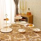北歐風格多層水果盤客廳現代創意家用蛋糕盤架下午茶點心架甜品架 【快速出貨】