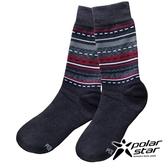 【PolarStar】美麗諾羊毛保暖襪(24-27)『炭灰』P18634 登山.保暖襪.彈性襪.紳士襪.休閒襪.長筒襪.襪子