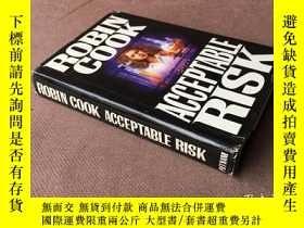 二手書博民逛書店Acceptable罕見Risk (英語 精裝)Y278316