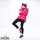 【MORR】Promac 流線剪裁機能防水外套 【炫藜紅】防水/透濕/透氣/戶外活動