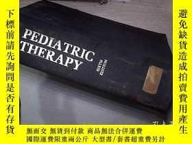 二手書博民逛書店PEDIATRIC罕見THERAPY 01 兒科治療Y20300