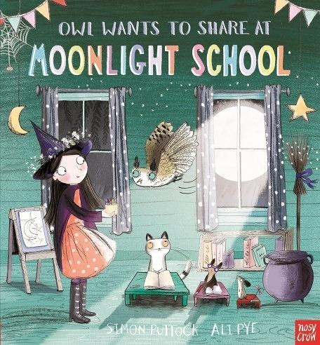 『手邊讀.線上聽 』OWL WANTS TO SHARE AT MOONLIGHT SCHOOL /英文繪本 (免費線上聽故事)