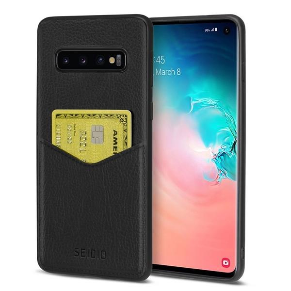 SEIDIO 極簡皮革手機保護殼-EXECUTIVE for Samsung Galaxy S10
