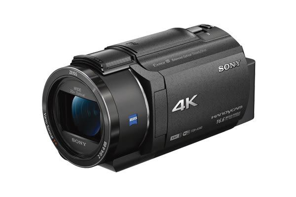 【聖影數位】SONY FDR-AX40 4K超高畫質攝影機20倍光學蔡司鏡 原廠公司貨 送32G高速卡