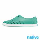 native JERICHO 修身鞋-湖水綠x貝殼白(女)