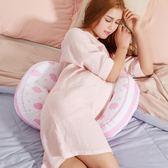 孕婦枕頭護腰側睡臥枕U型枕懷孕期多功能托腹抱枕 母嬰兒春夏用品  (PINKQ)