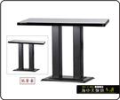 {{ 海中天休閒傢俱廣場 }} C-99 摩登時尚 餐桌系列 455-37 2X3尺美耐板餐桌/烤黑/烤銀腳(顏色可挑選)