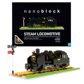 《 Nano Block 迷你積木 》NBM - 001 蒸氣火車 ╭★ JOYBUS玩具百貨
