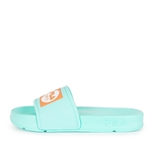 Fila Pop Slide [4-S351V-336] 拖鞋 男女 運動 休閒 舒適 輕量 防水 綠橘