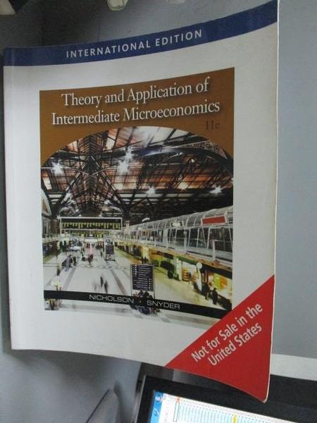 【書寶二手書T7/大學商學_QJR】Intermediate Microeconomics and Its Applic
