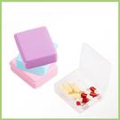 金德恩 1組2入 輕巧隨行小藥盒葯盒/隨身盒/收納盒/顏色隨機