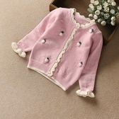 韓版寶寶嬰兒毛衣小童春秋兒童開襟外套