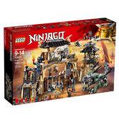 【LEGO樂高】 NINJAGO忍者系列  暗黑獵龍寨 #70655