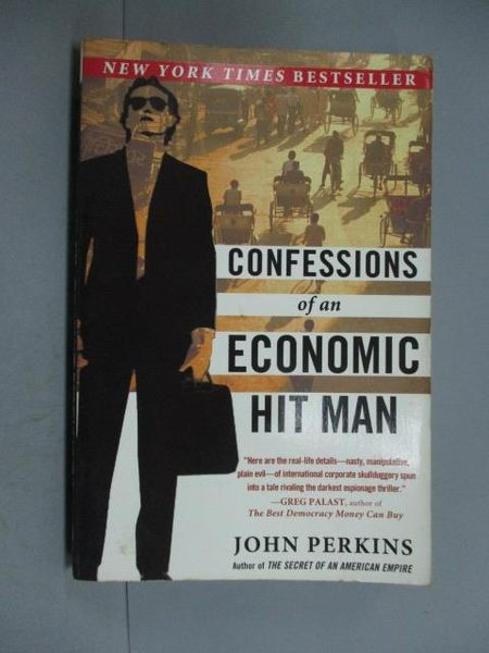 【書寶二手書T6/財經企管_HOA】Confessions of an Economic Hit Man_JOHN PE
