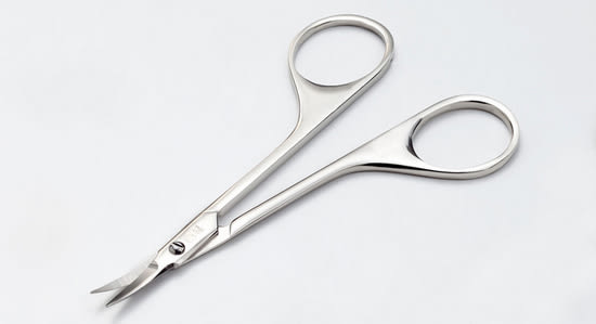 【永昌文具】日本綠鐘匠之技鍛造不鏽鋼鬢角小鬍專用修容剪(G-2105)