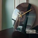 掛鐘 靜音掛鐘客廳石英鐘表家用時鐘創意時...