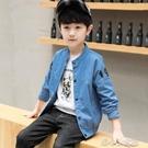 兒童外套男 童裝男童秋裝外套夾克新款潮牌洋氣兒童春秋棒球服中大童韓版 洛小仙女鞋