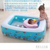 兒童充氣游泳池加厚嬰兒游泳桶成人家用超大號戲水池 JH1234『俏美人大尺碼』