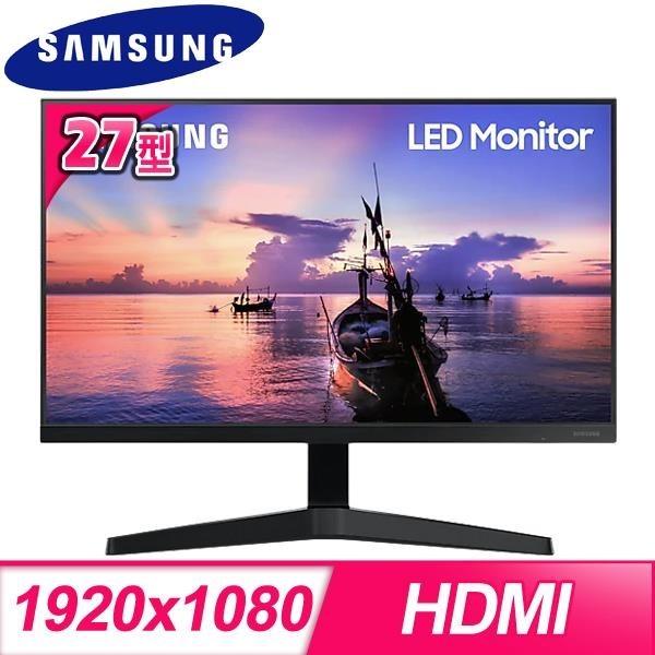 【南紡購物中心】Samsung 三星 F27T350FHC 27型 IPS 窄邊框電腦螢幕