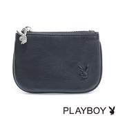 PLAYBOY- 零錢包 Punky playgirl系列-個性黑