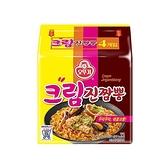 韓國不倒翁 奶油金螃蟹海鮮風味拉麵(130gx4包)【小三美日】