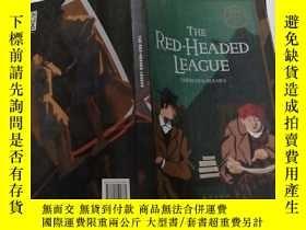 二手書博民逛書店THE罕見RED HEADED LEAGUE(紅髮會)外文版Y2