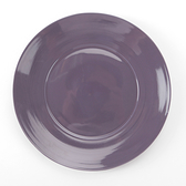 HOLA 璞真純色平盤 24cm 深紫