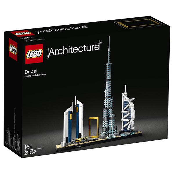 樂高積木 LEGO《 LT21052》ARCHITECTURE 世界建築系列 - 杜拜╭★ JOYBUS玩具百貨