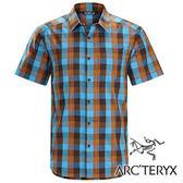 Arc'teryx 始祖鳥 Brohm 透氣格子短袖襯衫 男『藍/褐』17217 休閒襯衫│商務襯衫│吸濕排汗