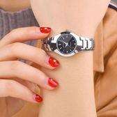 年終盛宴  韓國手錶女學生時尚女士手錶韓版簡約手錶男女錶防水情侶手錶石英 初見居家