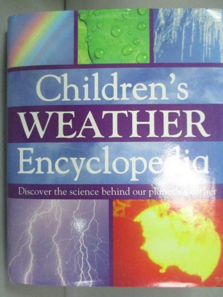 【書寶二手書T1/百科全書_JMK】Children s Weather Encyclopedia_Parragon