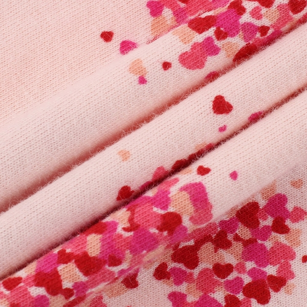 Gap嬰兒 Gap x Disney 迪士尼系列長袖包屁衣 650114-粉色